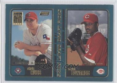 2001 Topps Limited Edition #744 - Chico Ruiz, Brian Edmondson, Chris Russ