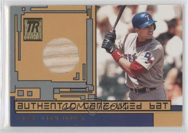 2001 Topps Reserve - Game-Used Bat #TRR-AR1 - Alex Rodriguez