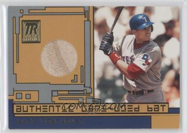 2001 Topps Reserve Game-Used Bat #TRR-AR1 - Alex Rodriguez
