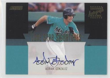 2001 Topps Stadium Club - Lone Star Signatures #LS15 - Adrian Gonzalez