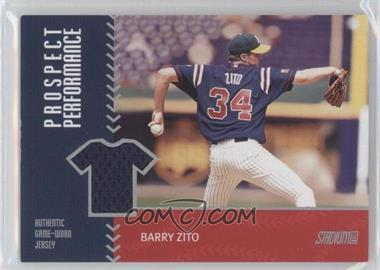 2001 Topps Stadium Club [???] #PRP20 - Barry Zito