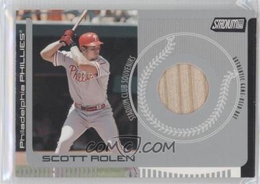 2001 Topps Stadium Club [???] #SCS1 - Scott Rolen