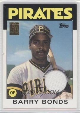 2001 Topps Topps Originals Relics #9 - Barry Bonds