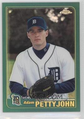 2001 Topps Traded & Rookies Chrome Retrofractor #T191 - Adam Pettyjohn