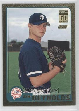 2001 Topps Traded & Rookies Gold #T243 - Eric Reynolds /2001