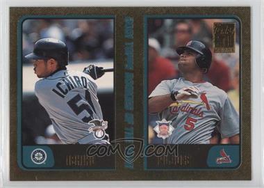2001 Topps Traded & Rookies Gold #T99 - Ichiro Suzuki, Albert Pujols /2001