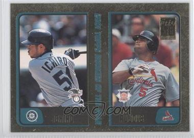 2001 Topps Traded & Rookies Gold #T99 - Juan Uribe, Ichiro Suzuki, Albert Pujols /2001
