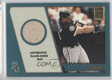 2001 Topps Traded & Rookies Relics #TTR-JC - Jose Canseco