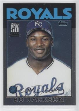 2001 Topps Traded & Rookies Traded Reprints Chrome #20 - Bo Jackson