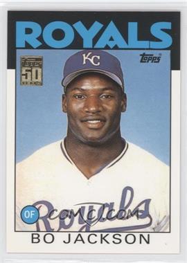 2001 Topps Traded & Rookies Traded Reprints #20 - Bo Jackson