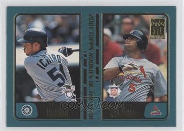 2001 Topps Traded & Rookies #T99 - Ichiro Suzuki, Albert Pujols