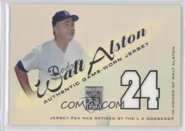 2001 Topps Tribute [???] #RJWA - Walt Alston