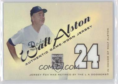 2001 Topps Tribute [???] #RJWA - Walter Alston