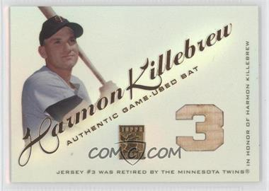 2001 Topps Tribute Bat Relics #RBHK.1 - Harmon Killebrew (Number)