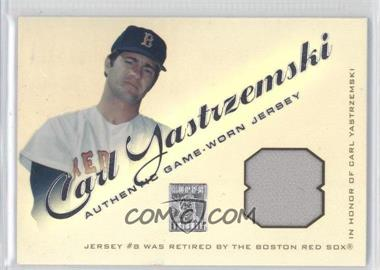 2001 Topps Tribute Retired Jerseys #RJCYA - Carl Yastrzemski