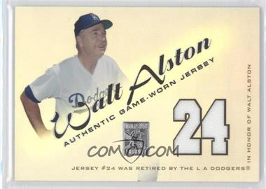 2001 Topps Tribute Retired Jerseys #RJWA - Walt Alston