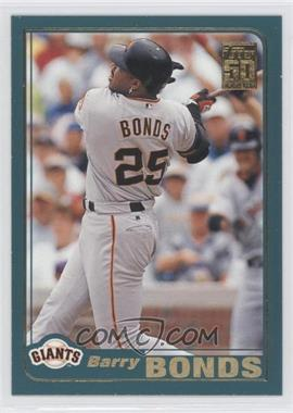 2001 Topps #497 - Barry Bonds