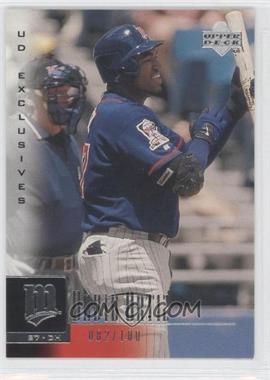 2001 Upper Deck - [Base] - UD Exclusives #129 - David Ortiz /100
