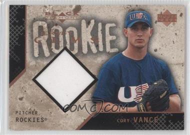 2001 Upper Deck Black Diamond Rookie Edition #136 - Cory Vance