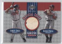 Andruw Jones, Rafael Furcal