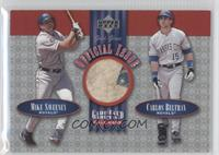 Mike Sweeney, Carlos Beltran