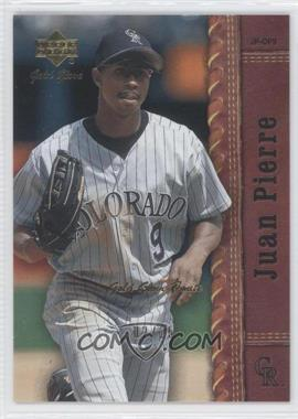 2001 Upper Deck Gold Glove Finite #89 - Juan Pierre /25