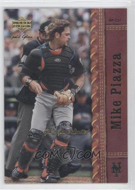 2001 Upper Deck Gold Glove Limited #75 - Mike Piazza /100
