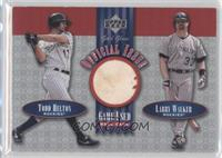 Todd Helton, Larry Walker
