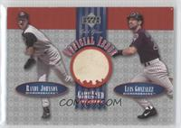 Randy Johnson, Luis Gonzalez