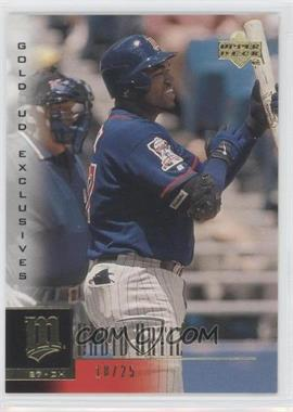 2001 Upper Deck Gold UD Exclusives #129 - David Ortiz /25