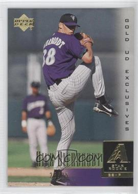 2001 Upper Deck Gold UD Exclusives #37 - Nick Bierbrodt /25