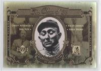 Babe Ruth, Wally Joyner, Honus Wagner, Charlie Maxwell