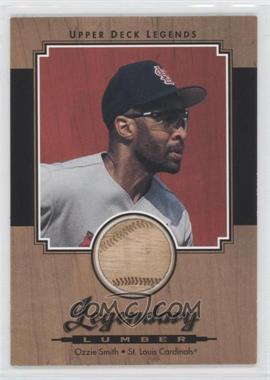 2001 Upper Deck Legends - Legendary Lumber #L-OS - Ozzie Smith