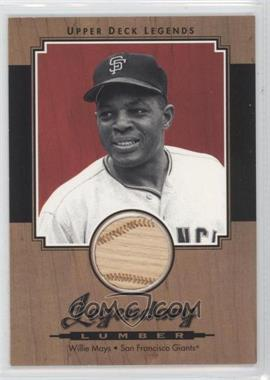 2001 Upper Deck Legends [???] #L-WM - Willie Mays