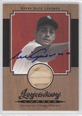 2001 Upper Deck Legends [???] #SL-LA - Luis Aparicio