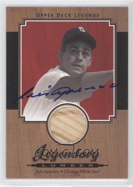2001 Upper Deck Legends Legendary Lumber Signatures [Autographed] #SL-LA - Luis Aparicio