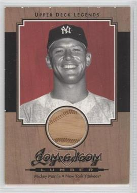 2001 Upper Deck Legends Legendary Lumber #L-MM - Mickey Mantle