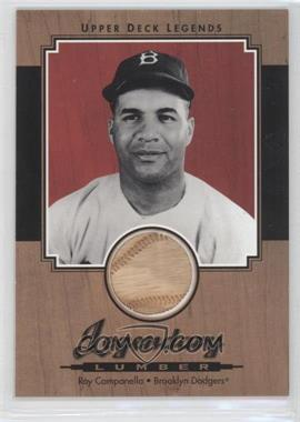 2001 Upper Deck Legends Legendary Lumber #L-RCA - Roy Campanella