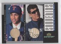 Alex Rodriguez, Edgar Martinez
