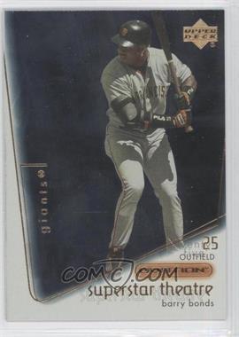 2001 Upper Deck Ovation [???] #ST7 - Barry Bonds