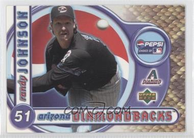 2001 Upper Deck Pepsi Arizona Diamondbacks #1 - Randy Johnson