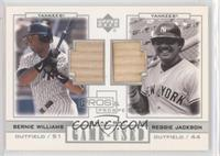 Bernie Williams, Reggie Jackson