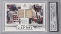 Andruw Jones, Kenny Lofton [ENCASED]