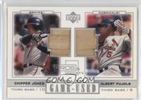 Albert Pujols, Chipper Jones
