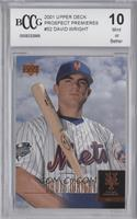 David Wright [ENCASED]