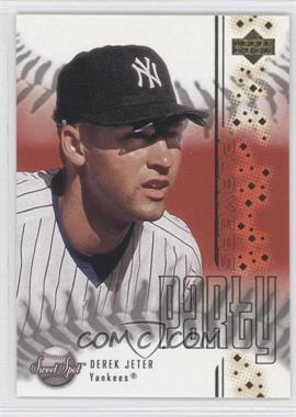 2001 Upper Deck Sweet Spot - Players Party #PP1 - Derek Jeter