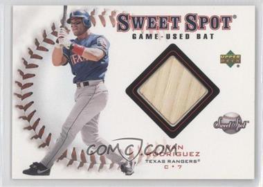 2001 Upper Deck Sweet Spot [???] #B-IR - Ivan Rodriguez