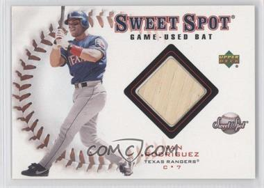 2001 Upper Deck Sweet Spot Game-Used Bats #B-IR - Ivan Rodriguez