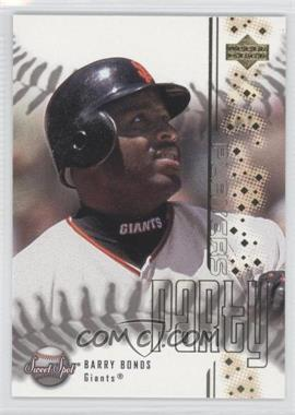 2001 Upper Deck Sweet Spot Players Party #PP8 - Barry Bonds