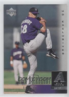 2001 Upper Deck UD Exclusives #37 - Nick Bierbrodt /100